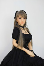 2016 new 148cm adult doll japanese love doll with wig vagina anal oral three sex metal skeleton real silicone sex dolls