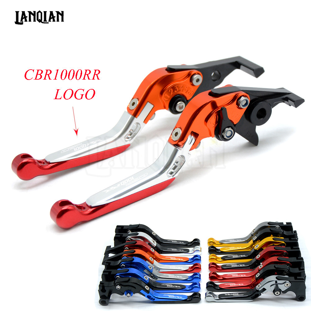 CNC Motorcycle Accessories Adjustable Folding Brake Clutch Levers For Honda CBR1000RR FIREBLADE 2008 2018 CBR 1000RR