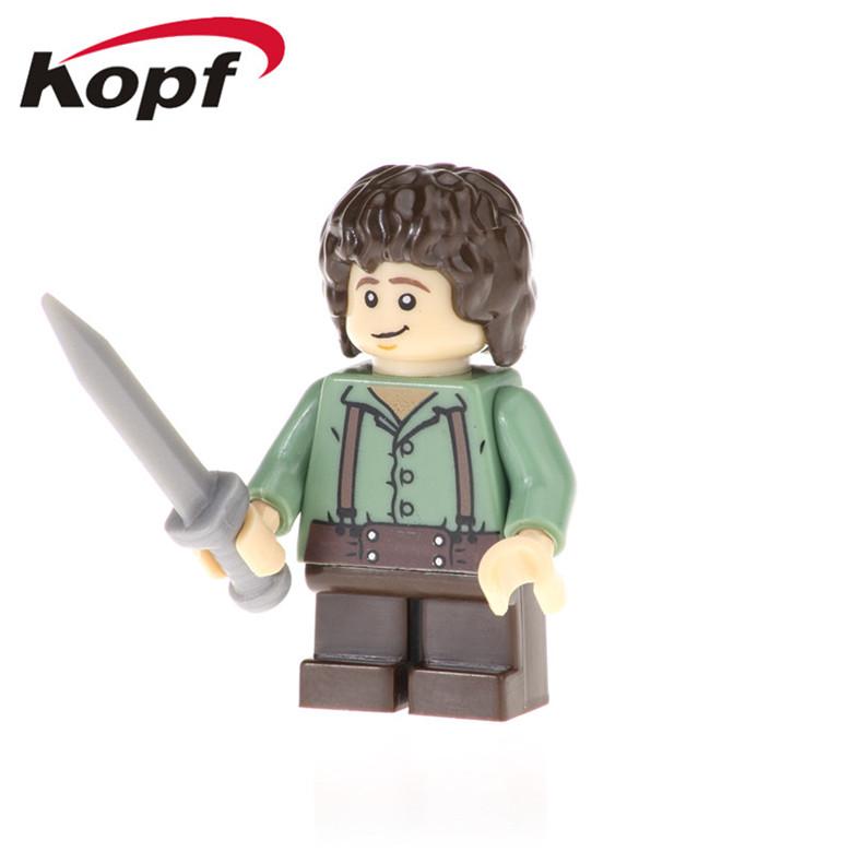 50Pcs PG550 Lord of the Ring Figures Samwise Aragon Gandalf Rydgarst Building Blocks Action Learning Toys For Children Education(China)