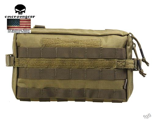 ФОТО  Emerson 1000D Waterproof Drop Utility Pouch Military Waist Molle Pack Weapons Tactics Outdoor Sport Ride EDC Hunting Bag