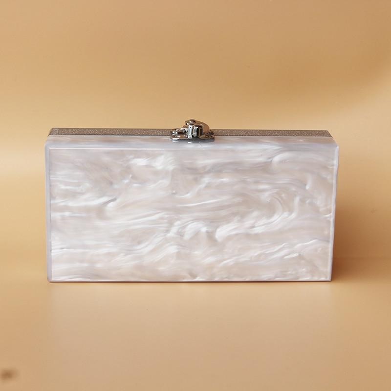 Caja de acrílico bolso de embrague de las mujeres pequeña bolsa de - Bolsos - foto 2