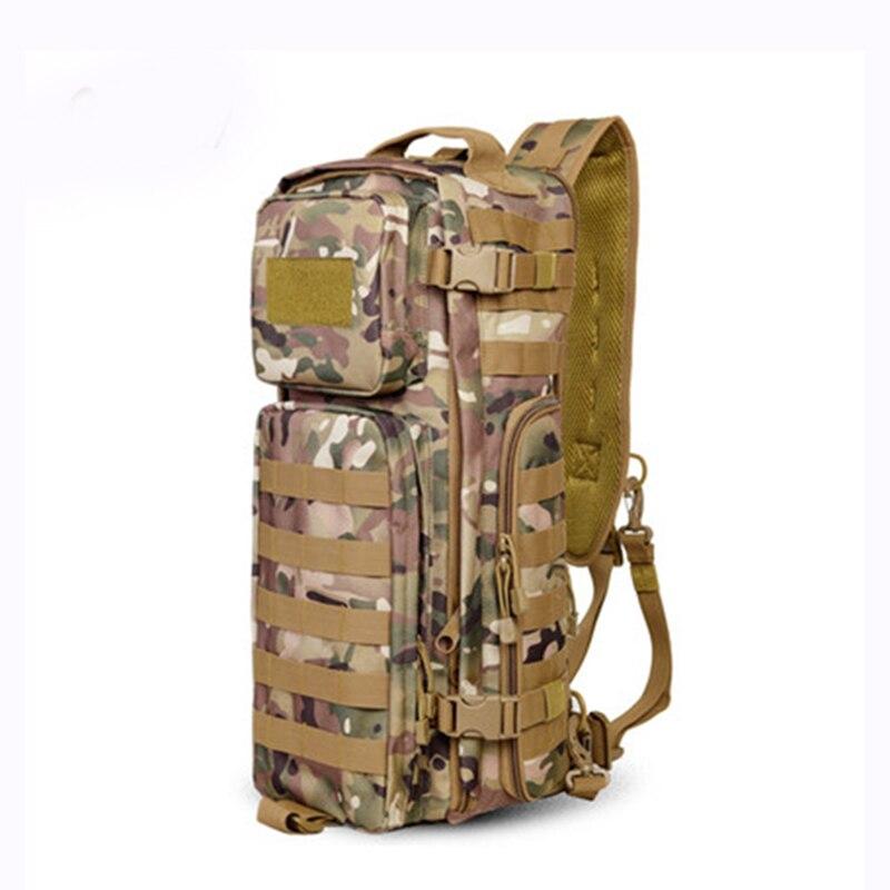 Sac à dos à bandoulière pour hommes sacs à dos pour hommes un seul épaule homme grand voyage sacs à dos militaires sacs à dos Molle à l'extérieur sac à dos - 4