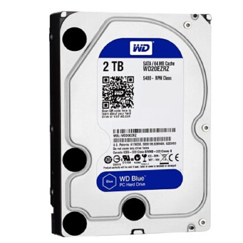 WD 2TB BLUE HDD 3.5 5400 RPM 64M Cache SATA III 6Gb/s Internal Hard Drive Disk 2000GB HD Harddisk for Desktop Computer жесткий диск hdd 1500 gb wd 7200 sata ii 64mb raid wd1502fyps re4e
