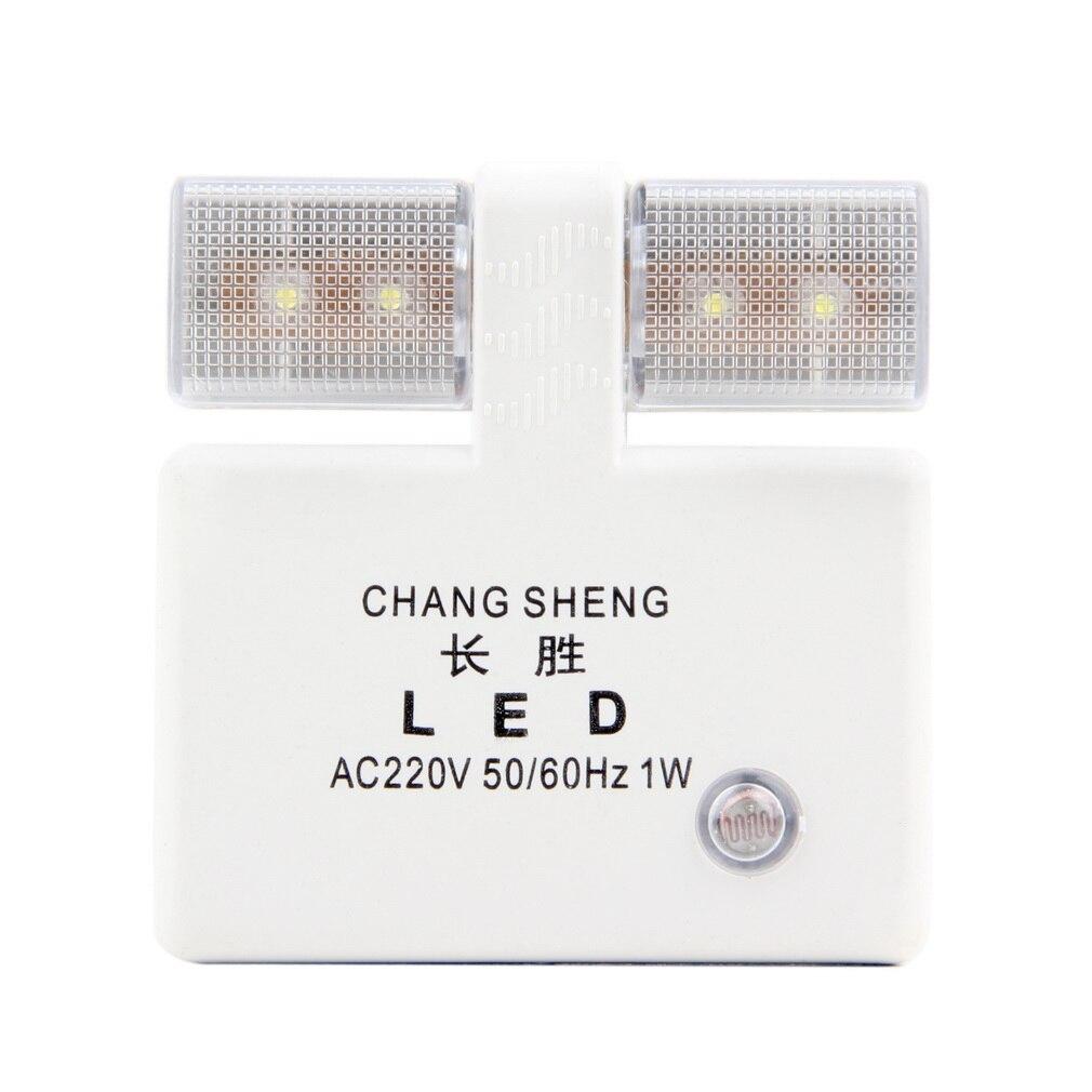 Automatic led energy saving night lamp - Hot 1pcs Energy Saving Led Night Light Nightlight Light Control Automatic Light Lamp China