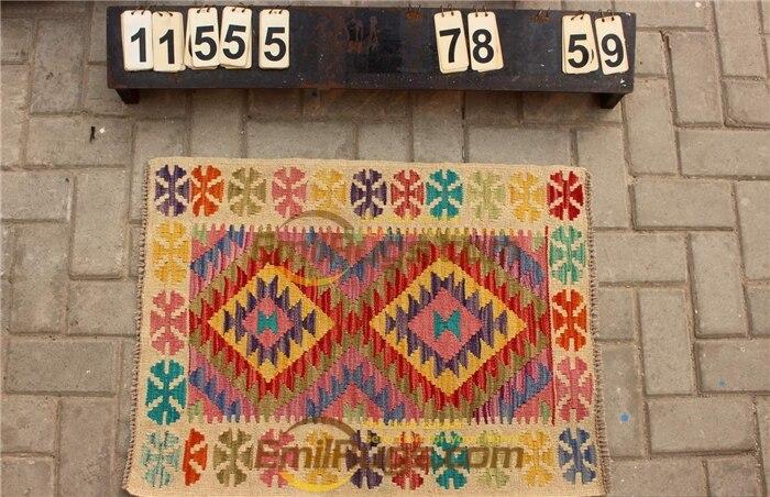 Laine ou soie persan grand Style Vintage canapé étage utilisation décoration de la maison laine tapis tapis Antique tapis - 4