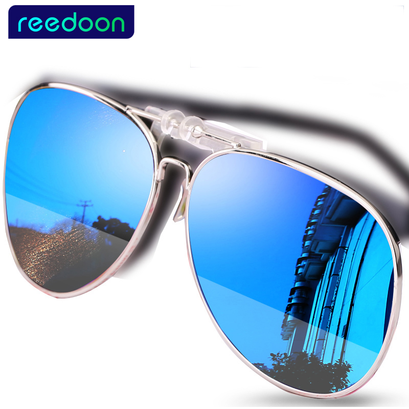 Eyeglasses Frame Sunglasses Clip Brand Polarized Lens Men Women Coating Myopia Clip Sun Glasses Night Vision