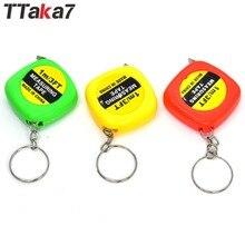 TTAKA7 портативный 1,0 м Выдвижная линейка сантиметр/дюйм рулетка мини линейка Красочный милый дизайн метрический калькулятор инструменты