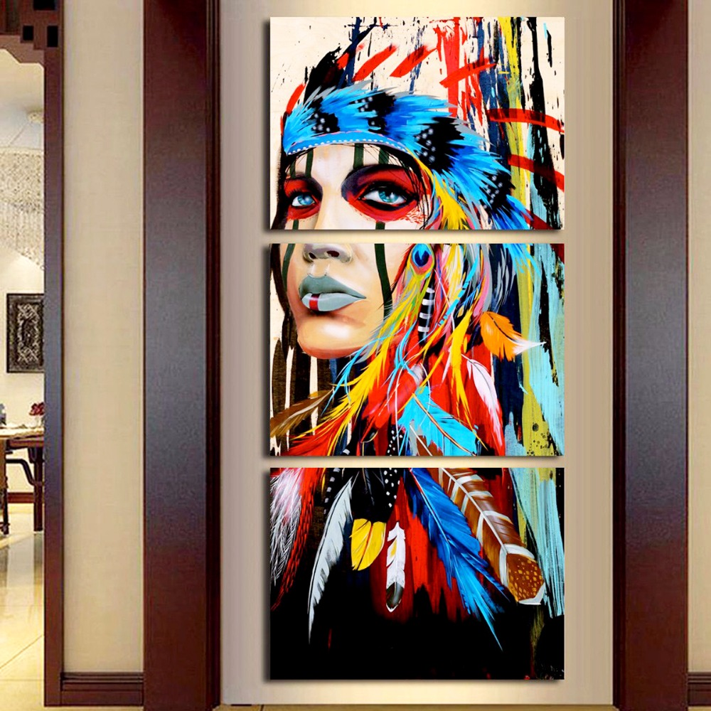 Canvas Painting Wall Decor India