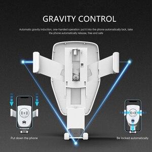 Image 3 - Do montażu na uchwyt na telefon do telefonu w samochodzie ładowarka 360 nie magnetyczny telefon stojak na iPhonea Samsung S10 Plus Xiaomi stojak na telefon Air Vent