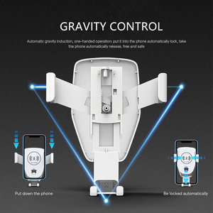 Image 3 - Mount Holder For Phone In Car charger 360 No Magnetic Phone Stand For Iphone Samsung S10 Plus Xiaomi Phone Stand Air Vent