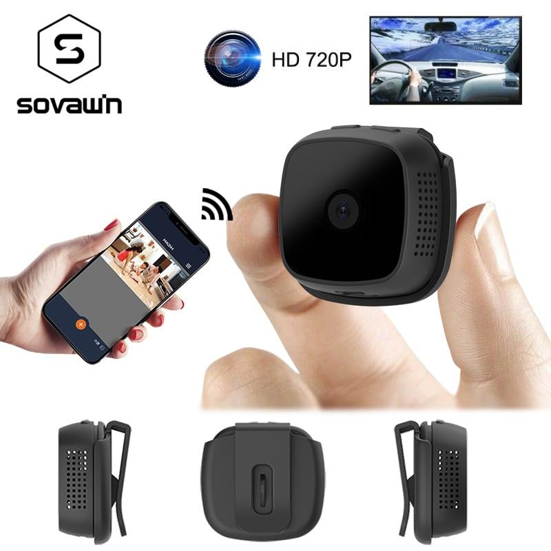 Mini caméra Micro Wifi IP Vision nocturne 720 P caméra HD enregistreur vidéo Sport détection de mouvement en plein air Android P2P caméra portable