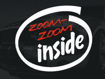 Popular Zoom Zoom Sticker-Buy Cheap Zoom Zoom Sticker lots from ...