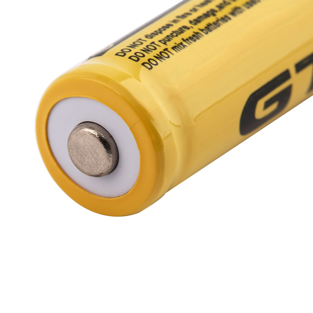 GIF TR 14500 3.7V 2500mAh Rechargeable Li-ion Battery Universal For LED Flashlight Headlamp Triple Over-heat Protecting