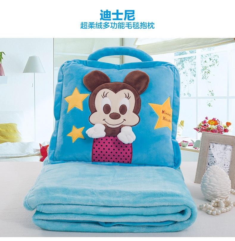 Disney Blanket Children Carton Mickey Minnie Blanket Baby Nap Blanket Summer Air Conditioning Blanket Winnie the Pooh цена