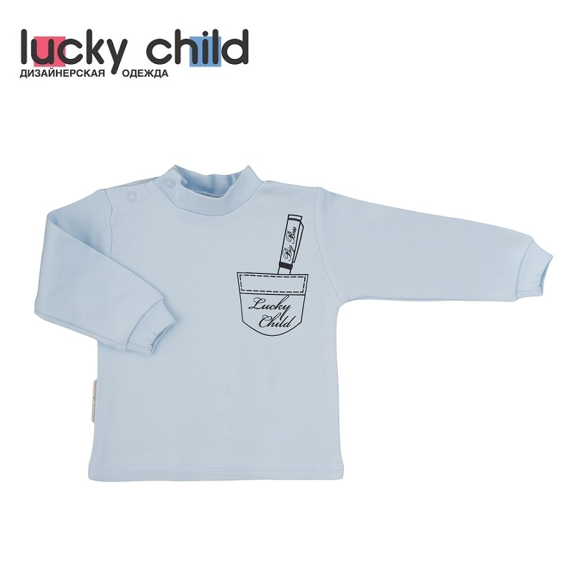 Фото - Hoodies & Sweatshirt Lucky Child for boys 3-23 Kids Baby clothing Children clothes Jersey Blouse contrast lace keyhole back blouse