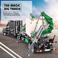 De Mack Grote Vrachtwagen Set de 20076 Technic Serie 42078 Bouwstenen Bricks kits Educatief Speelgoed Assemblage Kinderen Gift