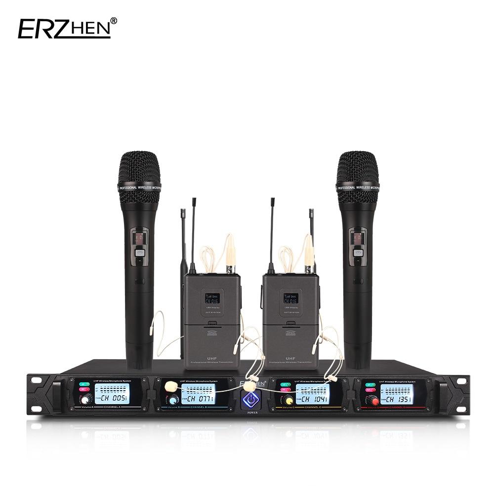 4-kanalni bežični mikrofonski sustav 8000G profesionalni UHF kanali - Prijenosni audio i video - Foto 2