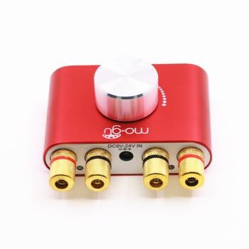 HiFi 50W+50W Stereo Bluetooth 5.0 Power Amplifier Mini Audio Power AMP 2019 New tda7850 bluetooth 5 0 high power audio amplifier board btl speaker mini amp 4 50w class ab hifi stereo subwoofer car amplifiers