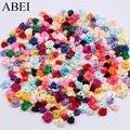 300 шт., 15 мм, разные цвета, маленькие розы, искусственные розы, свадебные украшения для скрапбукинга, аксессуары для одежды
