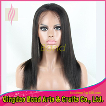 100% Full Lace Human Hair Wigs with Baby Hair 7A Virgin Hair Straight Glueless Lace Front Human Hair Wigs for Black Women