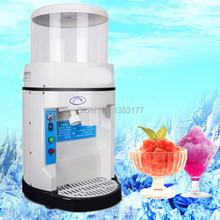 free ship commercial automatic electric ice crusher blender high capacity snow ice machine ice crushing shaver machine on sale