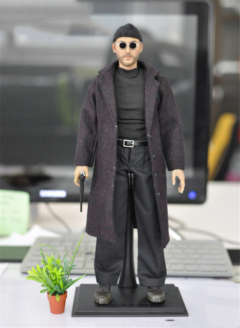 1/6 Scale Killer Jean Reno 12 Full Set Action Figure Doll Toys Gift 1 6 military scale action figures doll set super flexible 12action figure doll desert sniper soldier plastic model toys