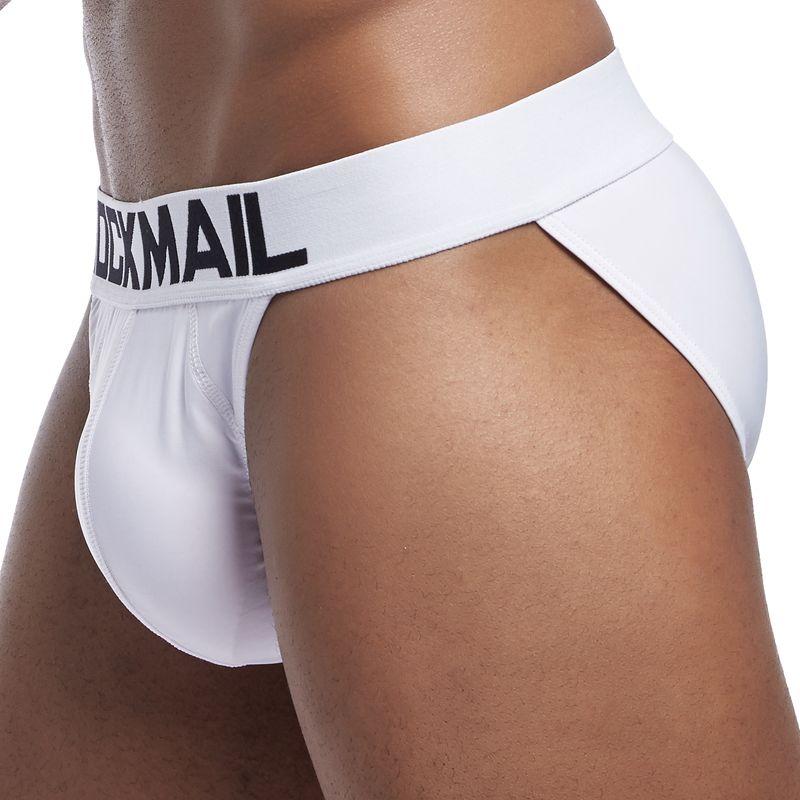 0dba0f1405ea4f US $4.23 15% OFF|JOCKMAIL Marke Sexy herren unterwäsche slip Atmungsaktiv  Nylon eis seide herren Bikini Briefs Shorts unterhosen cueca Homosexuell ...
