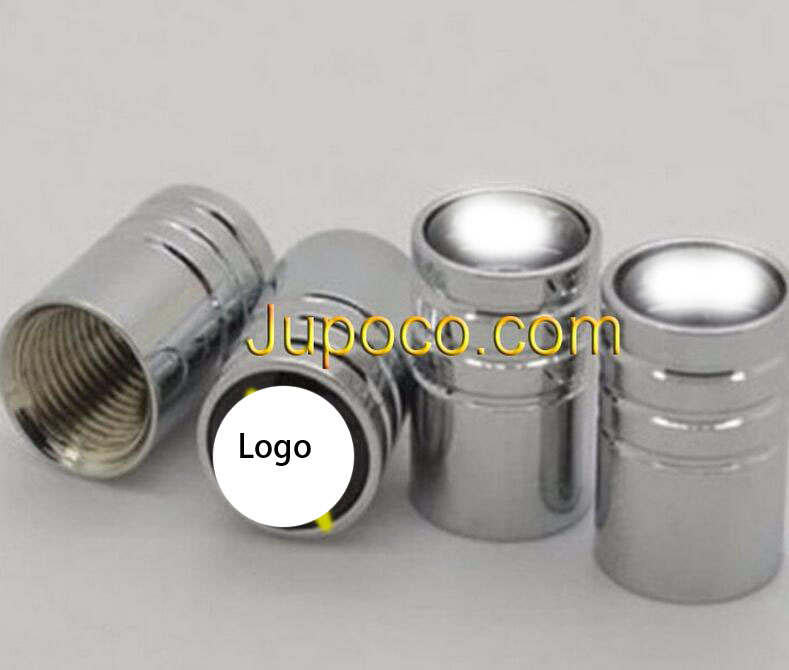 4pcs Chrome Car Styling Accessories Wheel Tire Valve Caps Stem Air For Land R-over Ra-nge Rover Discovery 4 Freelander 2 Evoque