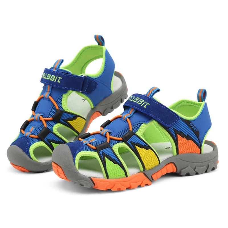 Kinderen strand sandalen Schoenen voor jongens Kinderen gesloten teen - Kinderschoenen - Foto 4