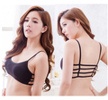 Quality Cropped Bra Top for Women Sutian backless white Cotton sexy bralette Suit Bras Crop Tops strappy cropeed