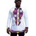 Africano mens tops hecho a medida trajes de hombre ropa camisa de la manera de áfrica africano clothing
