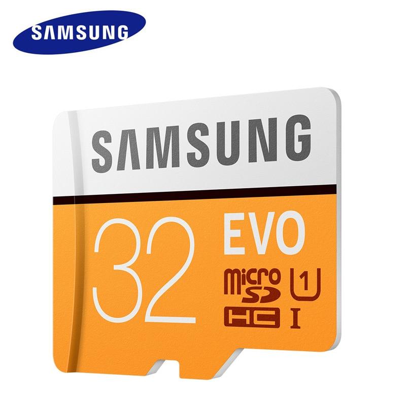 SAMSUNG Micro SD 32 GB SDHC 100 mb/s Class10 U1 Carte Mémoire UHS-I C10 TF Cartes Trans Flash SDXC U3 4 K HD pour Oppo Huawei Téléphone Portable