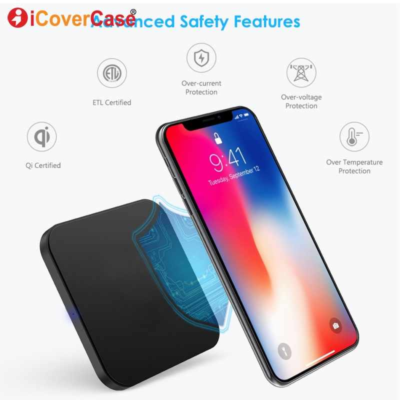 Wireless Charger For Huawei Y9 2019 Y3 Y5 Y6 Y7 Pro 2018 Y7 Prime 2017  Wireless Charging Pad Qi Receiver Mobile Phone Accessory