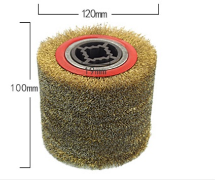 steel-wire burning polishing wheel brush abrasive wheel xeltek private seat tqfp64 ta050 b006 burning test