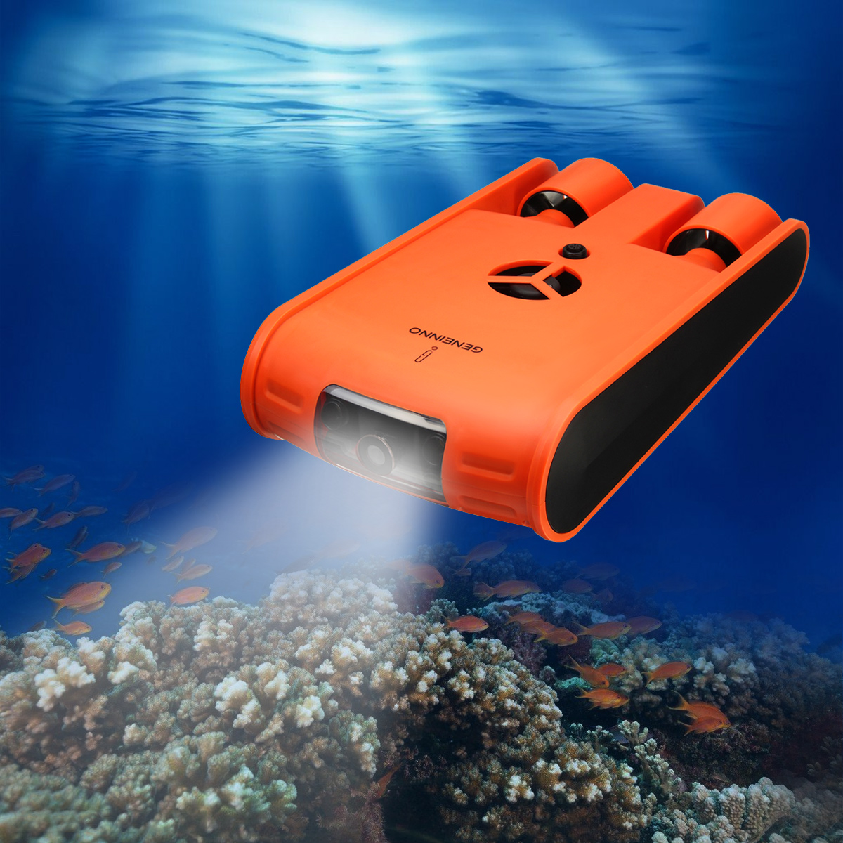 1 Set 1080 P HD 100 M Telecomando Macchina Fotografica Subacquea Drone Sottomarino Detection 32G macchina fotografica Subacquea Kit