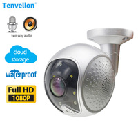 IP Camera WiFi 1080P Outdoor Surveillance wifi Camera Waterproof Home Security Night Vision Cloud Storage CCTV Camera Dome Video