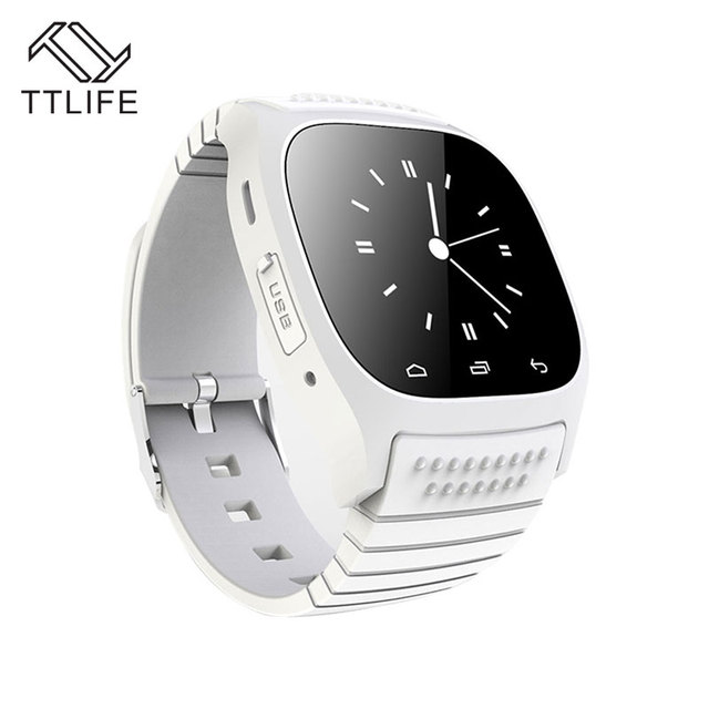 2016 TTLIFE Bluetooth Smart Watch BT-Уведомления Anti-Потерянный Наручные Часы для iphone 4/4s/5/5s Samsung S4/Note 2/Note MTK Android