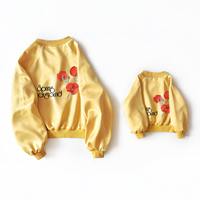 Family Winter Clothes Mother Son Outfits Mommy and Me Clothes Outwear Jackets Yellow Matching Mother Daughter Clothes