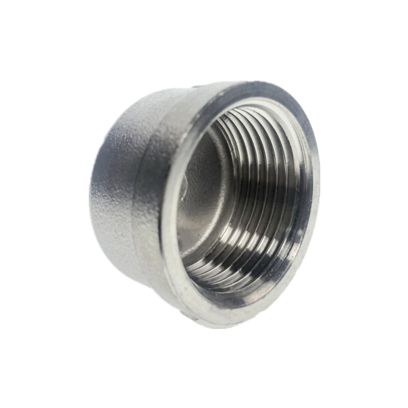 Cap Female Stainless Steel SS304 Threaded Pipe Fittings BSP