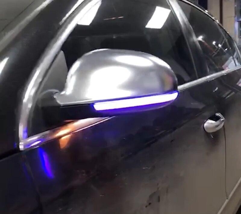Pour V W GOLF 5 GTI5 Magotan B6 Passat B5.5 B6 Sagitar 06-12 Lavida 08-12 clignotant dynamique clignotant LED indicateur de miroir