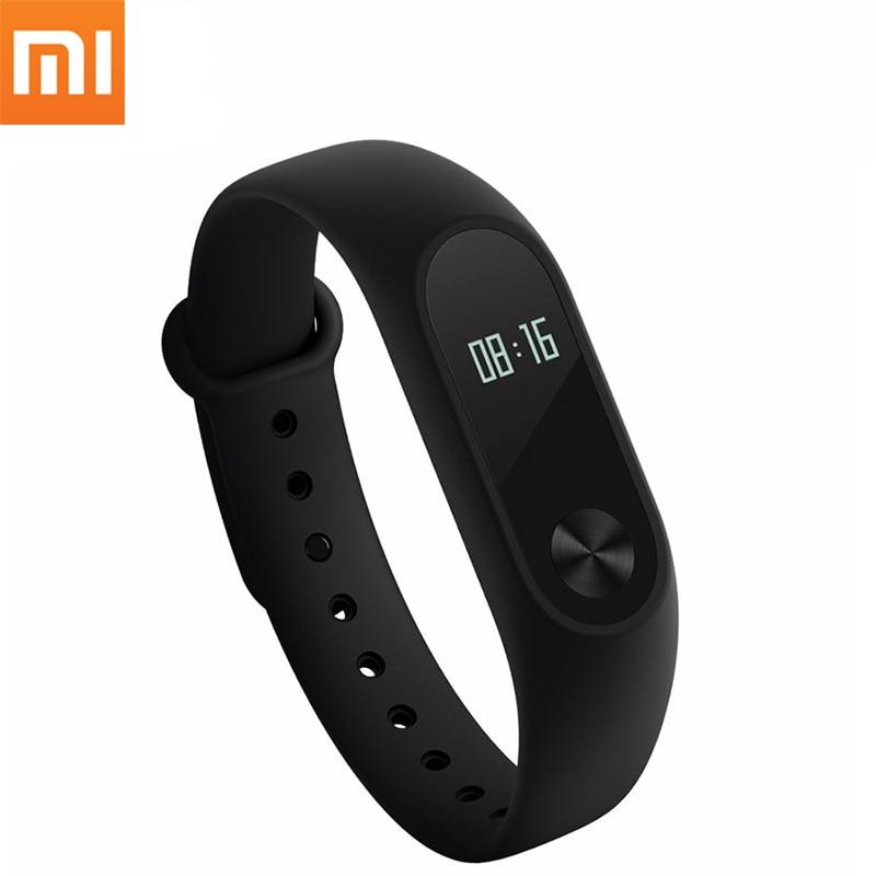 Original Xiaomi Mi Band 2 Miband Smart Wristband Bracelet OLED Touch Scren Heart Rate Fitness Tracker