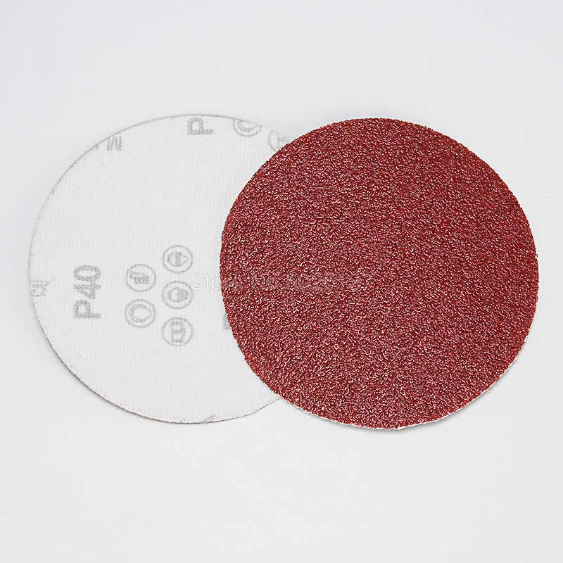 1 Pcs 5 นิ้ว 125 มม. กระดาษทรายแผ่นทรายกรวด 40-2000 สำหรับเลือก Hook และ Loop แผ่นขัด Sander Grits แห้งบด