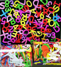 990pcs3bagslotmix numbers letters foam stickersearly educational toysteach your ownkindergarten suppliesdiy craftsoew