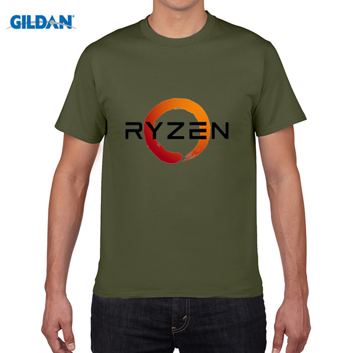 GILDAN PC CP Uprocessor AMD RYZEN T Shirt geek programmer tees Gaming camiseta Computer ZEN Peripherals T-Shirt