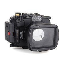 Meikon 40m/130ft Underwater Diving Camera Waterproof Housing Cases for Sony WX500 Free Shipping meike waterproof diving camera case for sony nex5 slr digital camera blue 40m underwater