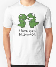 цена на Design Shirts I Love You This Muc Short Sleeve Gift O-Neck Shirts For Men