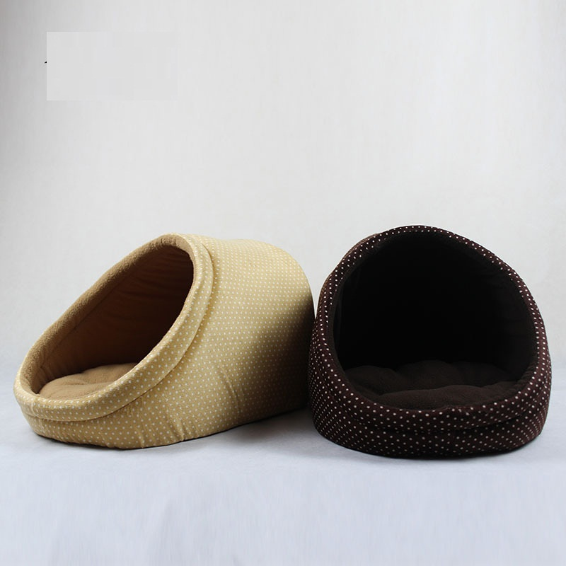 Pet High-quality Circular Bed Four Seasons Warm Dog House Soft Kennel Cat Puppy Sofa Mat Can Unpick and Wash Pet Supplies