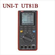 UNI-T Ut81b ручной ЖК Осциллограф Осциллографы-Мультиметры 8 МГц 40 Мс/с в Режиме реального Времени Частота Дискретизации Цифровой Мультиметр С Интерфейсом USB
