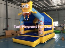 Super Inflatable Bouncer Bouncy Castle Bounce House Combo Slide with Blower