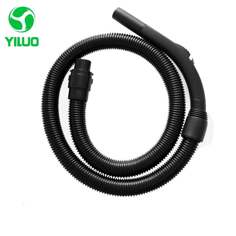 Inner Diameter 35mm Black High Temperature Flexible Vacuum Hose + hose fitting +hose handle Vacuum Cleaner QW14T-803 QW13T-07D